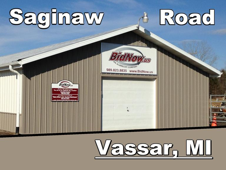 January 7th (Monday) Saginaw Road Online Consignment
