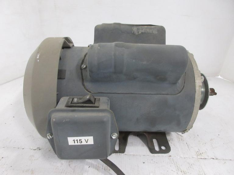 Electric Motor, 1-Phase, 110 Volt