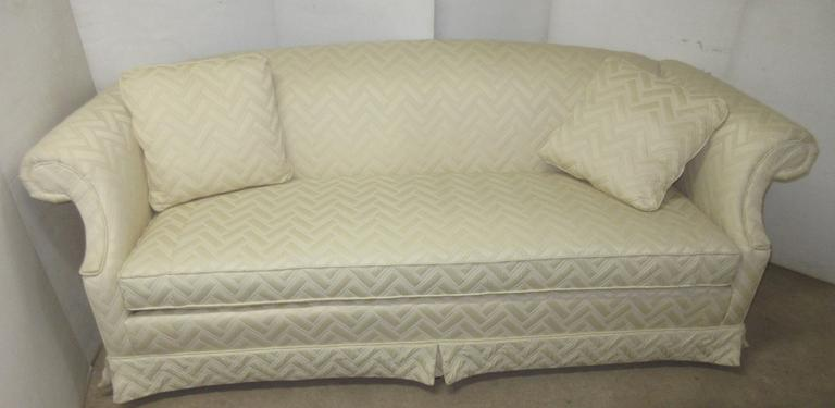 Drexel Heritage Promium Contemporary Sofa with Pillows and Elastic Straps, Seller States Costs $1600 and is a High End Item