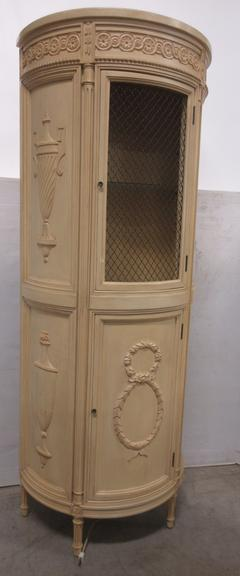 Greek Style China Hutch