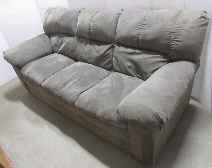 Microfiber Sofa, Matches Lot No. 10