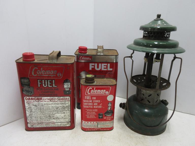 Albrecht Auctions | Vintage 1952 Coleman 220E Lamp, For