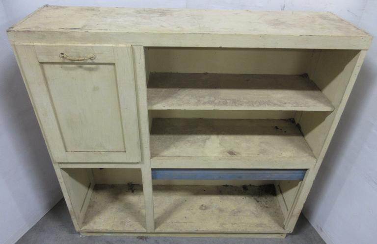 Antique Hoosier Cabinet Top with Flour Bin