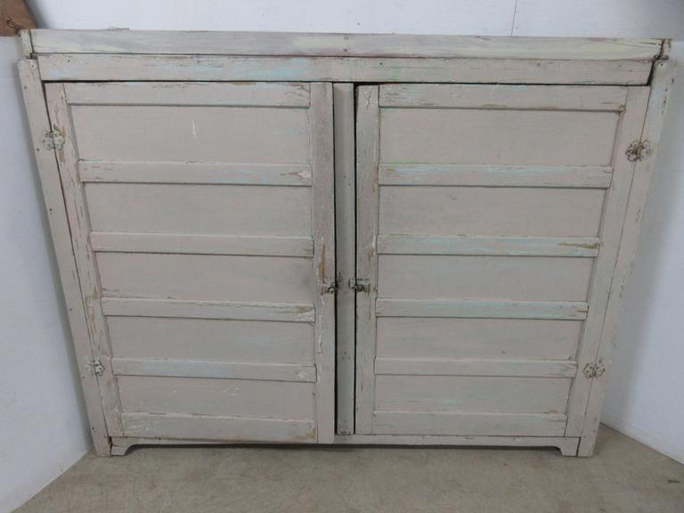 Large Antique Farm Cupboard
