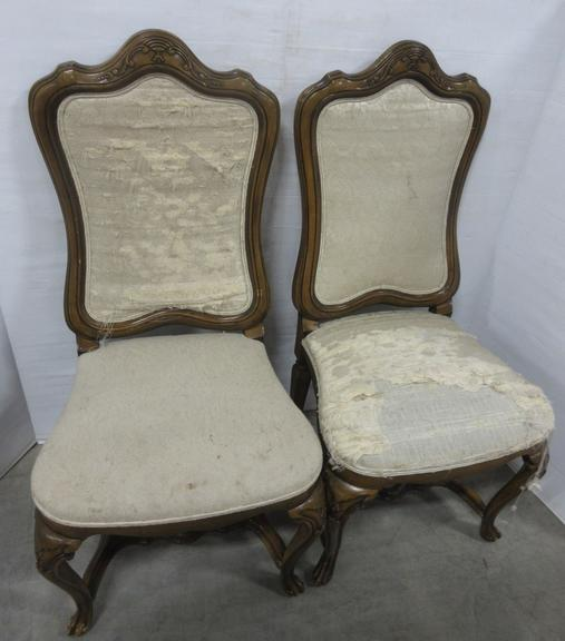 (2) Victorian Kitchen Chairs