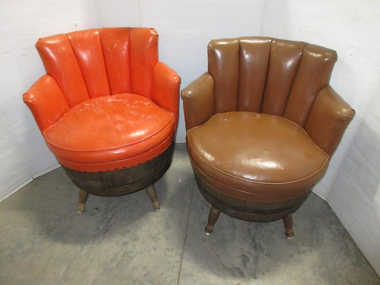 (2) Barrell Chairs