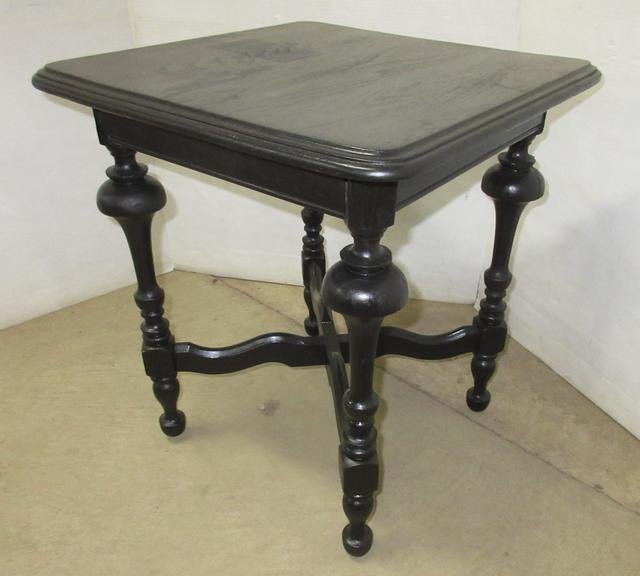 Small End Table, Black in Color