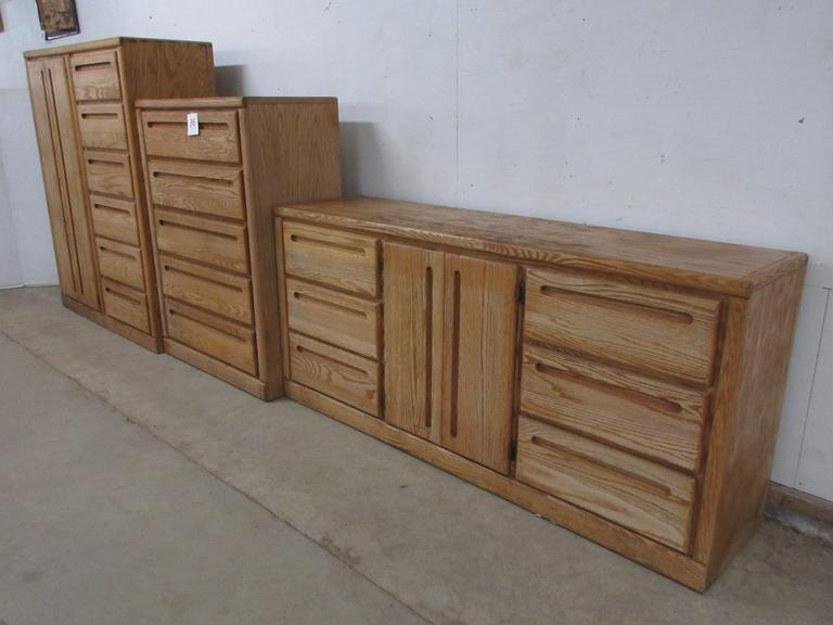 Three-Piece Matching Set of Dressers