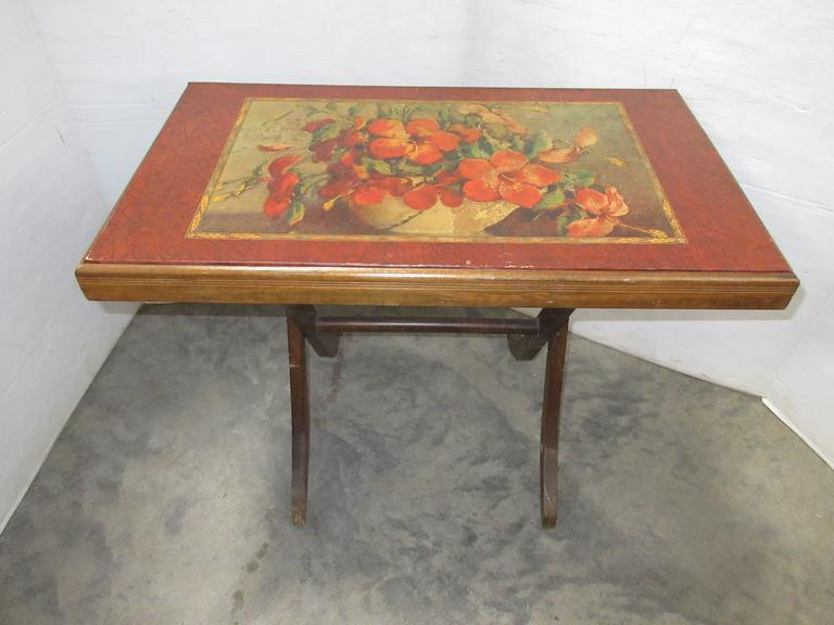 Older Decorative Folding Table