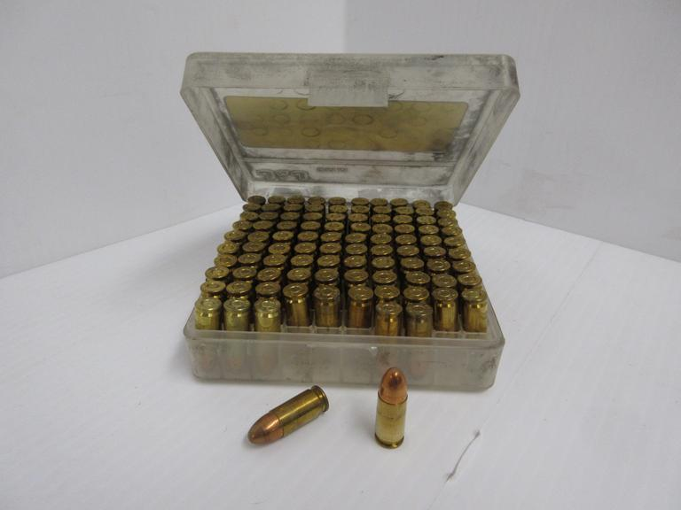 (97) Rounds of 9mm FMJ PMC Ammo