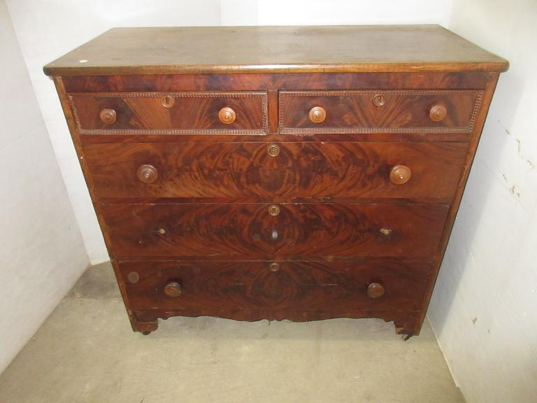 Antique Dresser on Casters