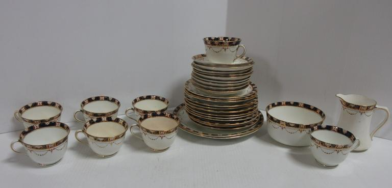 Antique China Pieces, Partial Set, Made in England, Various Sizes