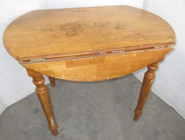 Modern Drop-Leaf Table