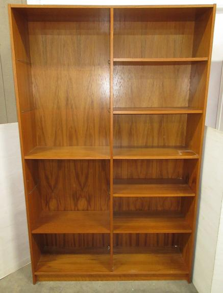 Danish Modern Wood Shelf