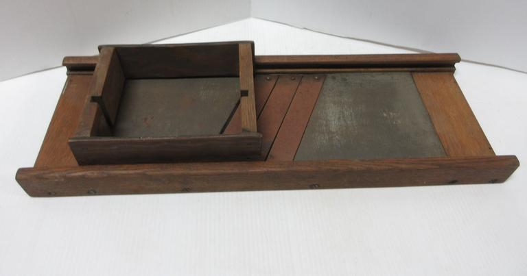 Albrecht Auctions | Antique Cabbage Slicer with Box, Used for