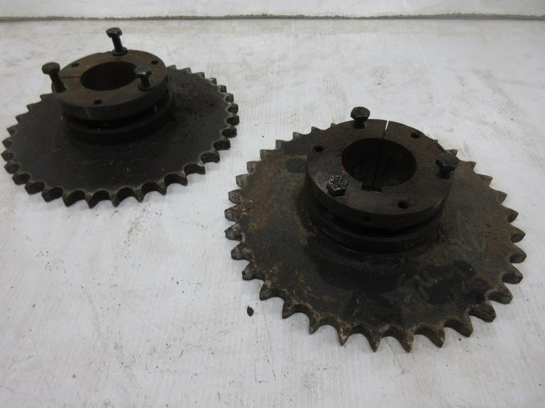 "(2)-Number 60 QD Style Gears, 35-Tooth, 2"" Bore"
