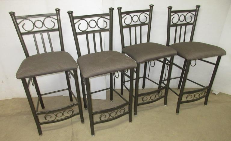Set of (4) Bar Stools