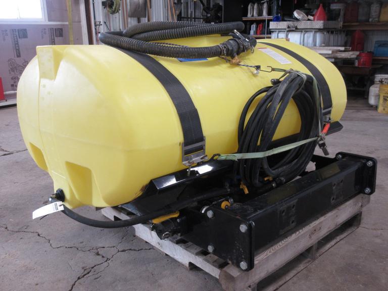 Albrecht Auctions | Demco 300 Gallon Front Mount John Deere Tank