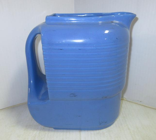 1940s to 1950s Water Pitcher, Made by Hall China Co. for Westinghouse, Made in USA