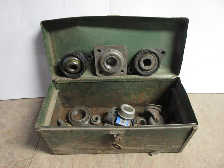 Toolbox with Miscellaneous Items