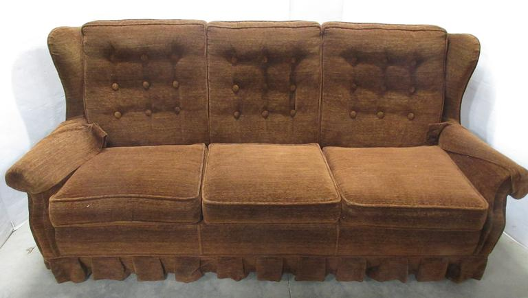 La-Z-Boy Dark Brown Sofa