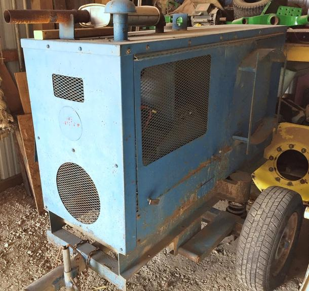 Miller Portable Welder, 4-Cylinder, Wisconsin Gas, Runs Well and Welds Well, No Cables Come with Welder, CN1142