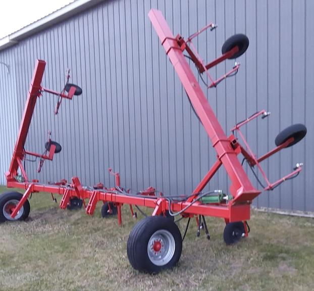 "Shop Built 16-30"" Row Band Sprayer, Row Width can be Easily Changed, Tires are Foam Filled, CN1039"
