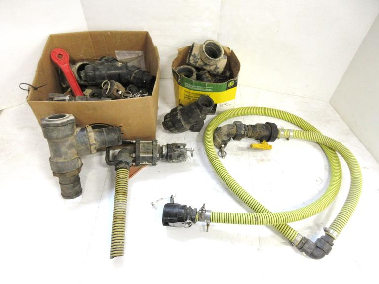 Miscellaneous Group of Assorted Hose, Couplers, Fittings and Valves