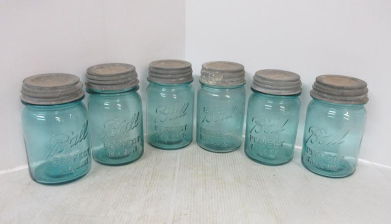 Rare mason jars