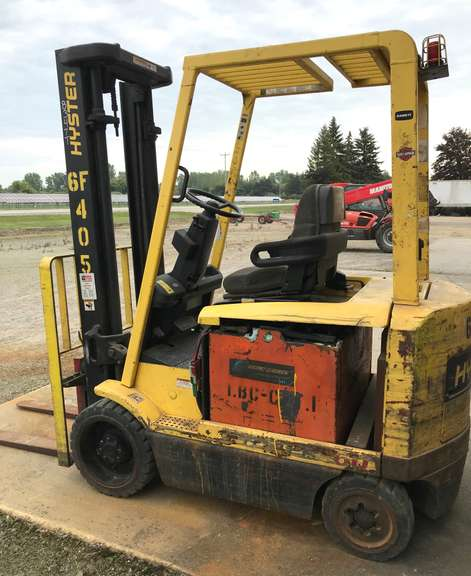 Forklift, Unknown Working Condition