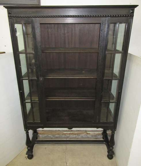 Antique China Cabinet with Three Shelves