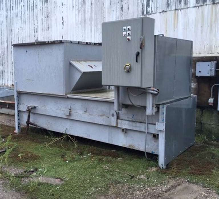 Trash Compactor, 3-Phase Motor (Working Condition), Side Load, As Is Condition