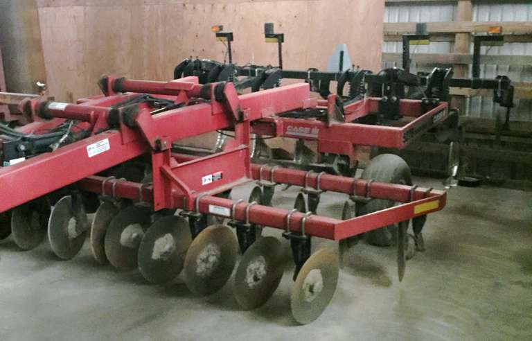 Case International Harvester 527B Disc Ripper, Blades and Bearings Three Years Ago