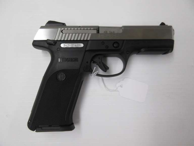 "Ruger Model-SR40 .40SW Pistol 4"" Barrel, with Box"