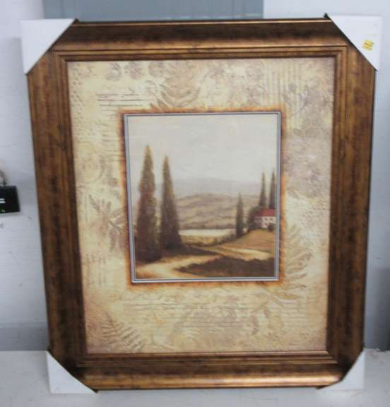 Countryside Framed Picture under Glass, Michaels