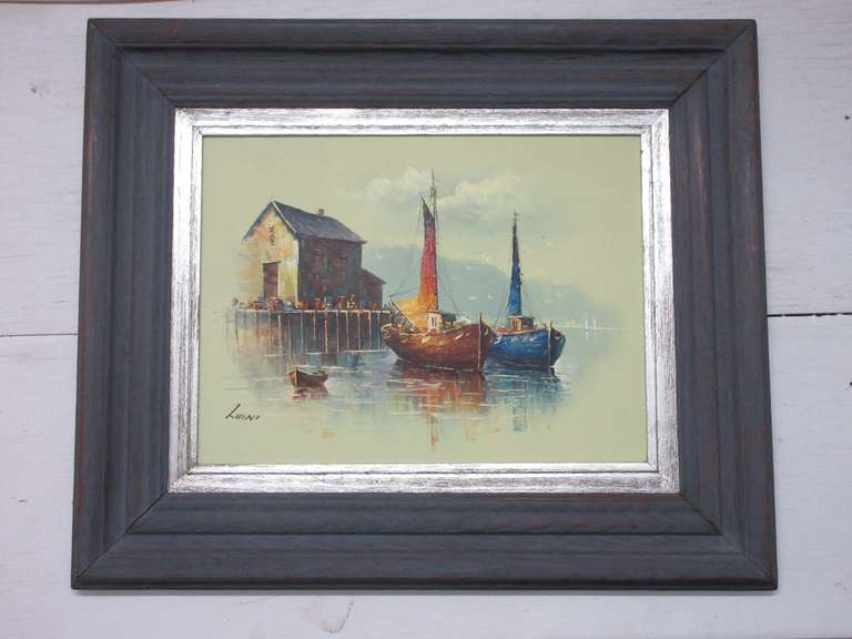 Luini Oil Painting