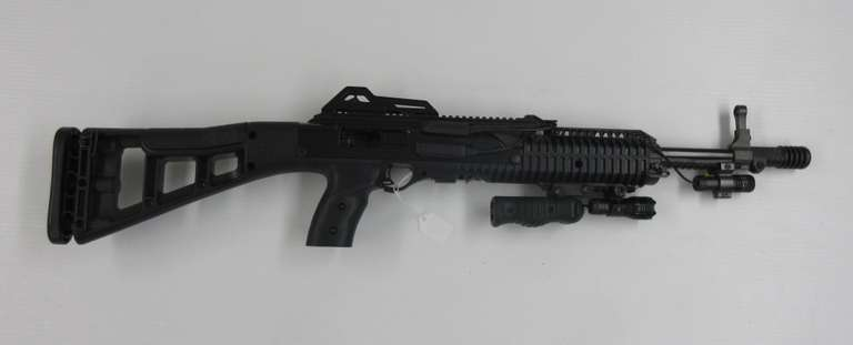 Hi-Point Firearms Model 4095 Rifle .40S&W with (2) Magazines, Laser, and Flashlight