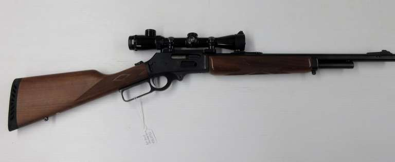 Marlin Model 1895M .450 with Thompson Center 3x9x32 Scope, Reload Dies, and (67) Rounds