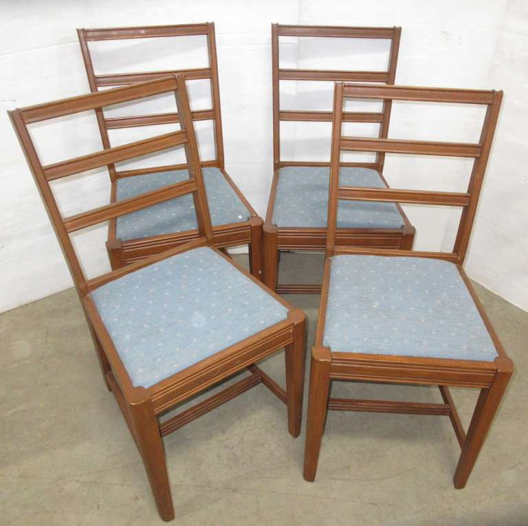 Set of (4) Wooden Dining Chairs, Matches Lot Nos. 41, 42, and 44