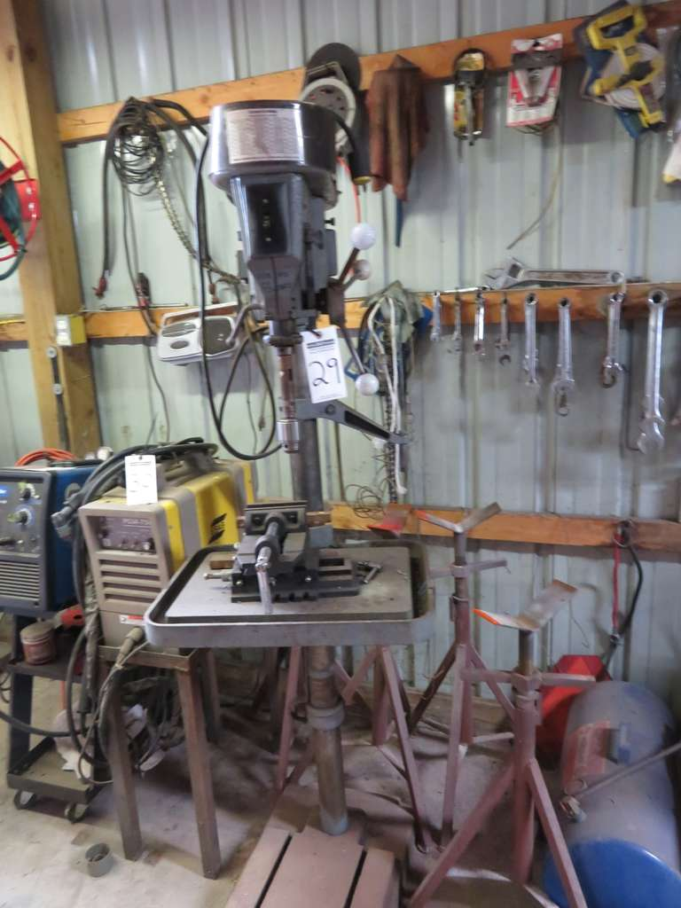 Rockwell Drill Press, Series 15-665, Stand Included