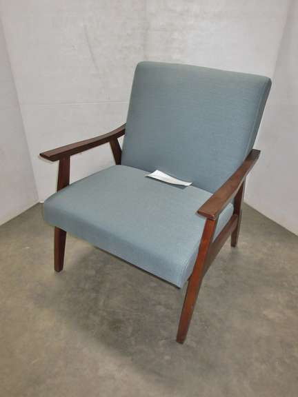Avenue Six Davis Arm Chair, Model No. DVS51-K21, Klein Sea in Color