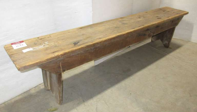 Antique Primitive Bench