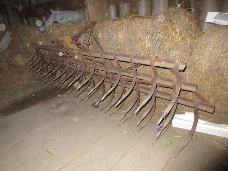 Weeder with Shop Built Hitch