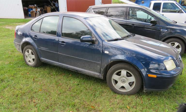2002 Volkswagen Jetta, 212,065 Miles, Four-Door, Diesel Engine, Automatic Transmission, Runs Well and Has No Major Dents or Scratches, Title Included