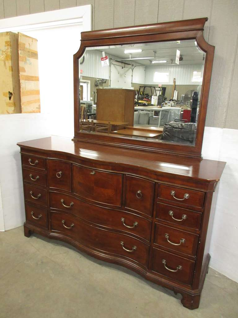 Dresser and Mirror, Universal Furniture, Matches Lot No. 30