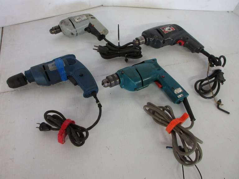 (4)-Electric Drills, Working