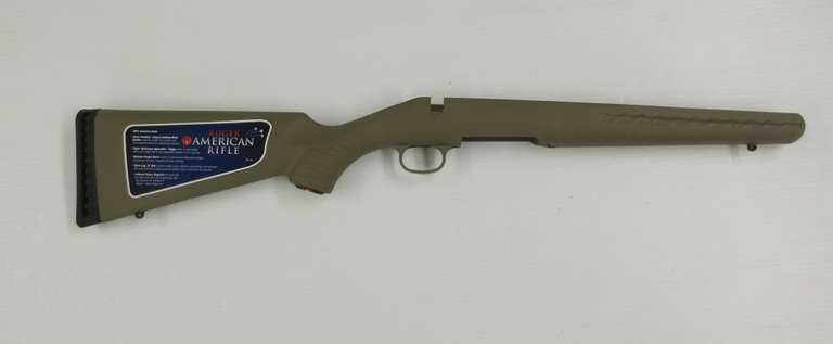 Ruger American Take Off Stock, Fits All Short Action Calibers, Flat Dark Earth