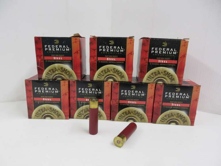 "(7) Boxes of Federal Premium Rogers Sporting Goods Exclusive Ammunition, 12-Gauge 3.5"" No. 2 Shot, Seller Purchased for This Season and Never Used"