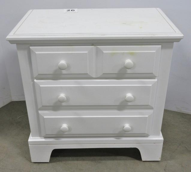 White Night Stand, Matches Lot Nos. 27 and 28