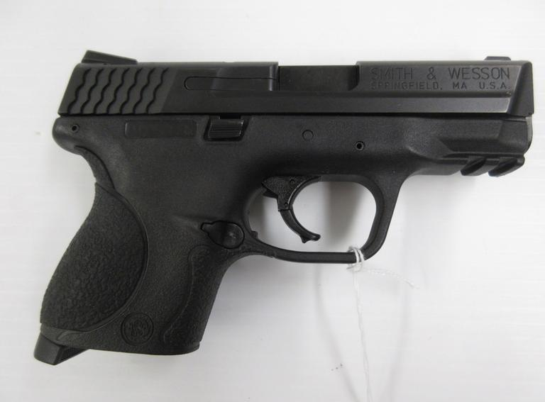 Smith & Wesson M&P40c, with Stainless Steel Slide, Picatinny Rail, and Case, Serial No. MPV61xx